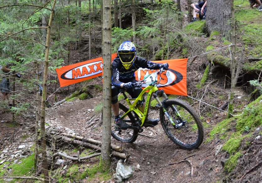 Vid Peršak is a hero of Black Hole Enduro 2015. He also won the Maxxis SuperStage. Foto: Manuela Lisjak
