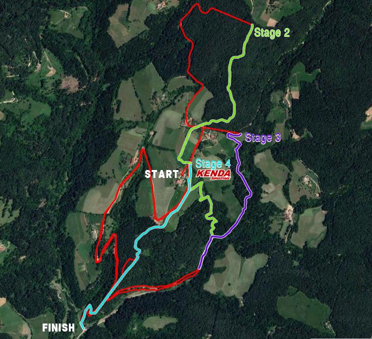 Jamnica map